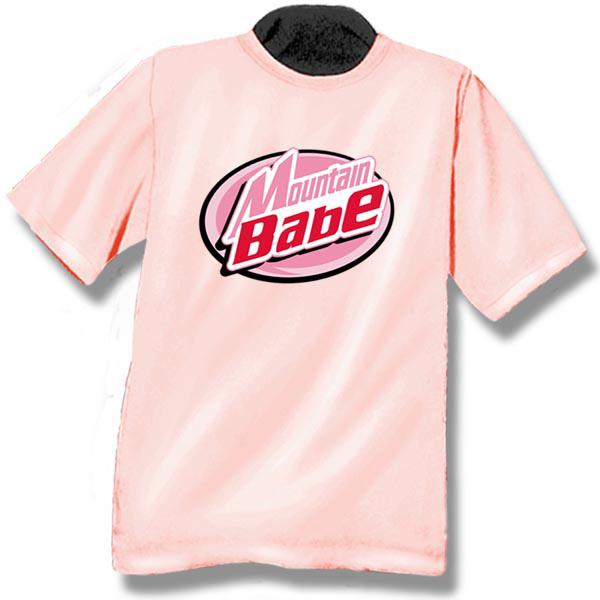Mountain BabeScreen Print Youth T-Shirt