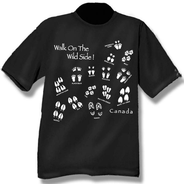 Walk on the WildsideScreen Print T-Shirt