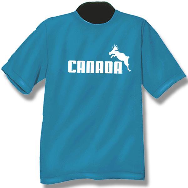 Canada Athletic MooseScreen Print T-Shirt