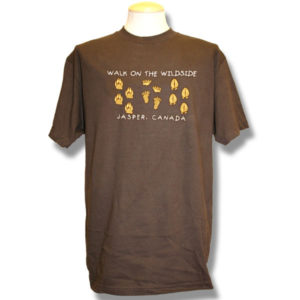 Walk on the WildsideEmbroidery T-Shirt