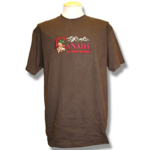 Canada Moose MountainEmbroidery T-Shirt