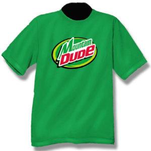 Mountain DudeScreen Print T-Shirt