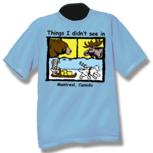 Things I didn't see . . . Screen Print T-Shirt