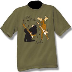 Nature RocksScreen Print T-Shirt