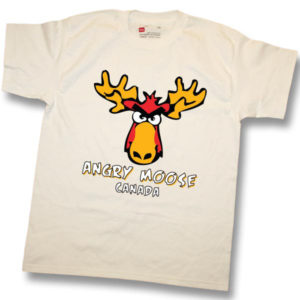 Angry MooseScreen Print T-Shirt