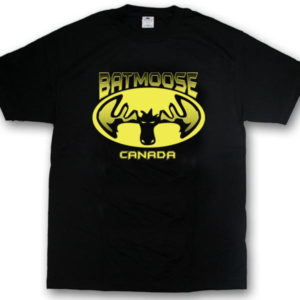 Bat MooseScreen Print T-Shirt