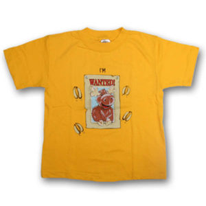 I'm Wanted in . . . MooseScreen Print Kids T-Shirt