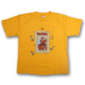I'm Wanted in . . . MooseScreen Print Kids T-Shirt