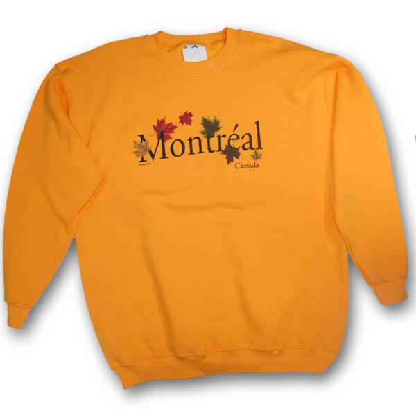 Canada Autumn Maple Leaves Sweat Shirt