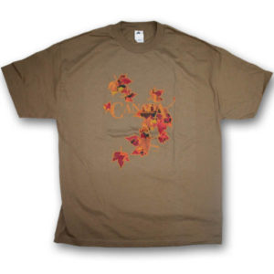 Canada Fall Maple LeavesScreen Print T-Shirt