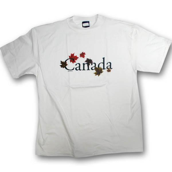 Canada Autumn Maple LeavesScreen Print T-Shirt
