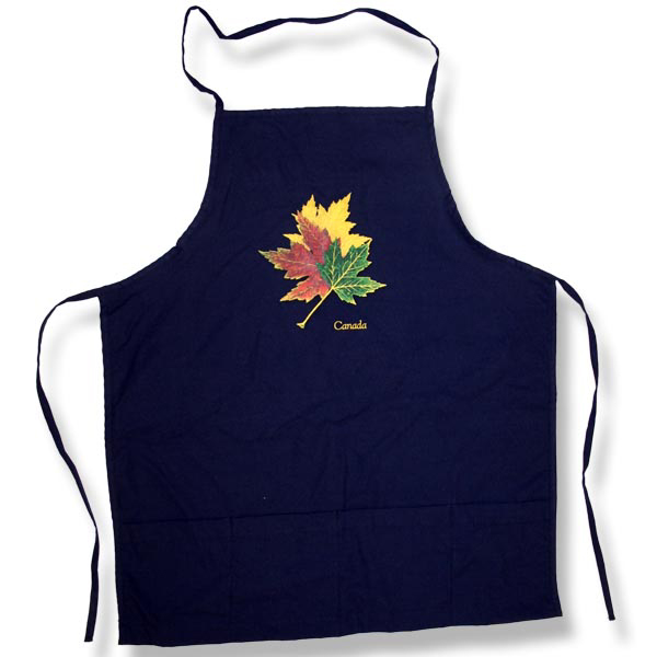 Canadian Three Maple LeafApron