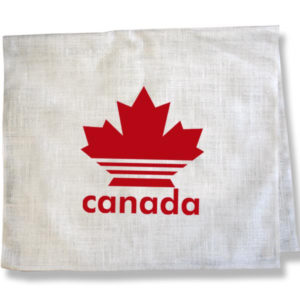 Canadian Red Maple LeafTea Towel