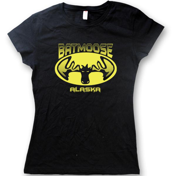 Bat mooseWomen's Jersey T-Shirts