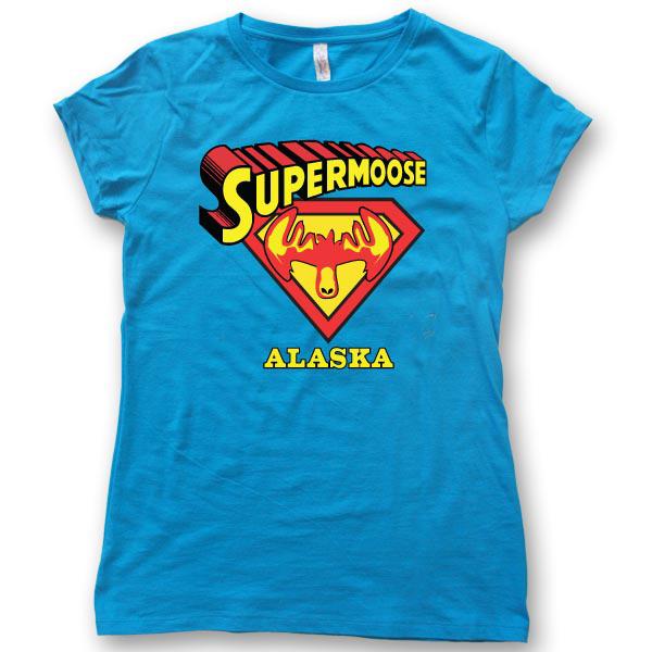 Super MooseWomens Jersey T-Shirt