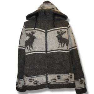 Adult Moose Hooded Jacket