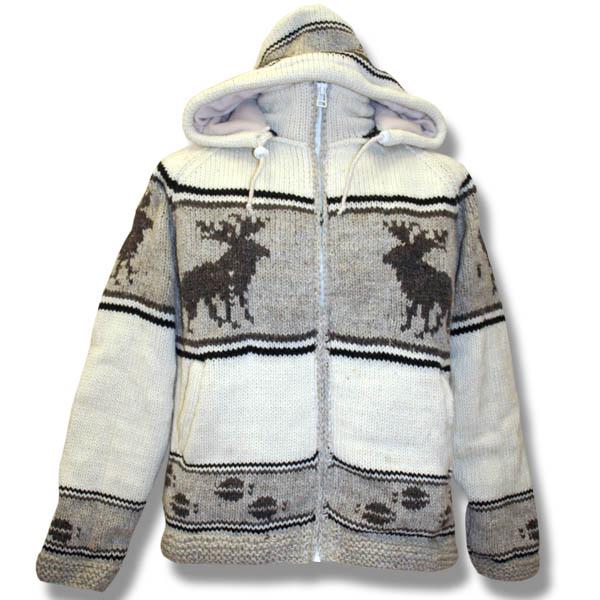 Adult Moose Hooded Jacket