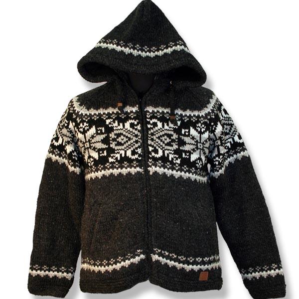 Adult Snowflake Woolen Sweater