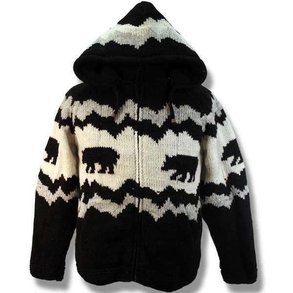 Adult Jasper Bear Hooded Jacket