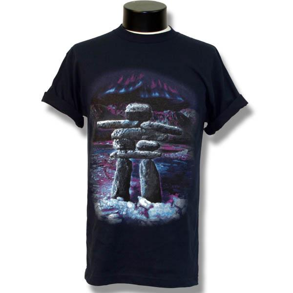 Inukshuk SceneScreen Print T-Shirt