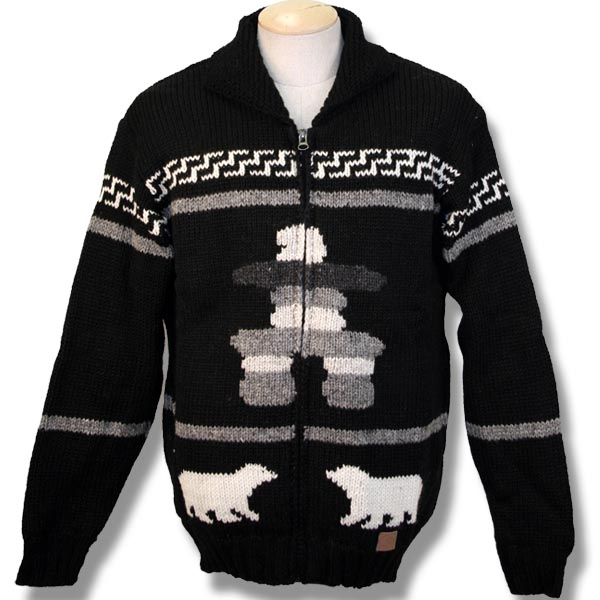 Adult Woolen Lined Nordic sweater