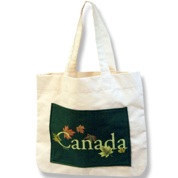 Canadian Maple LeavesShopping Bag