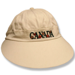Canada Ladies Long Peak Baseball Cap