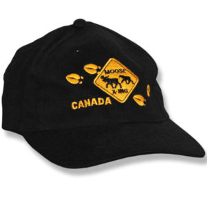 Moose Crossing Baseball Cap