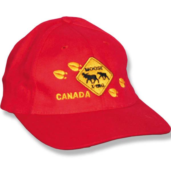 Moose Crossing Baseball Cap