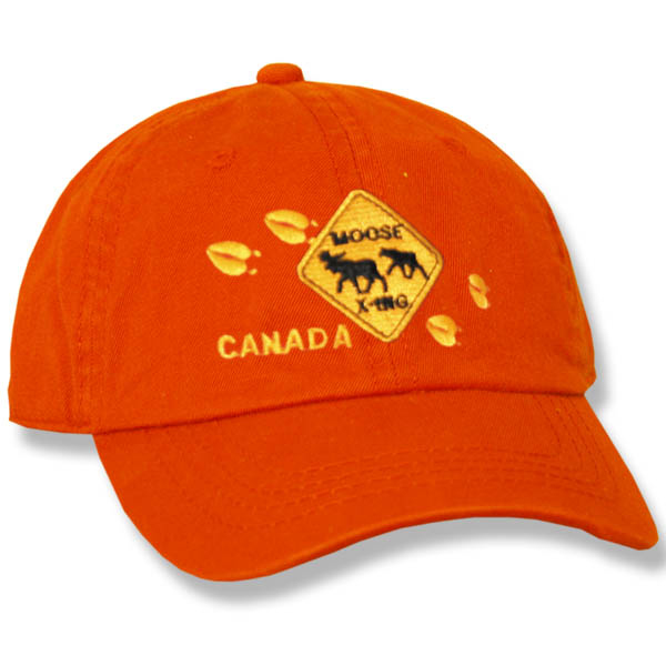 Moose Crossing Ladies Baseball Cap
