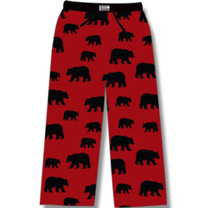 Black Bear on Red