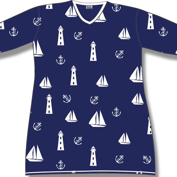Nautical on Navy
