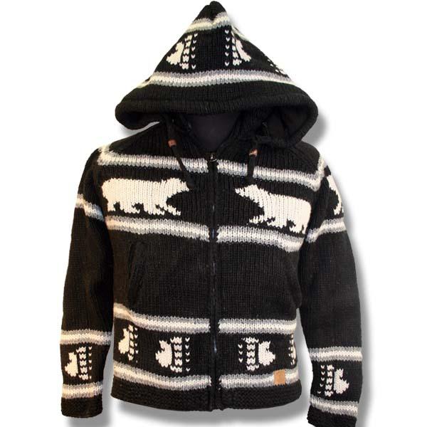 Adult Polar Bear Hooded Jacket