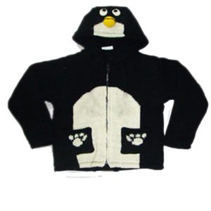 Penguin Kids Hooded Jacket
