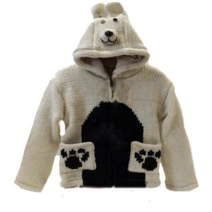 Polar Bear Kids Hooded Jacket