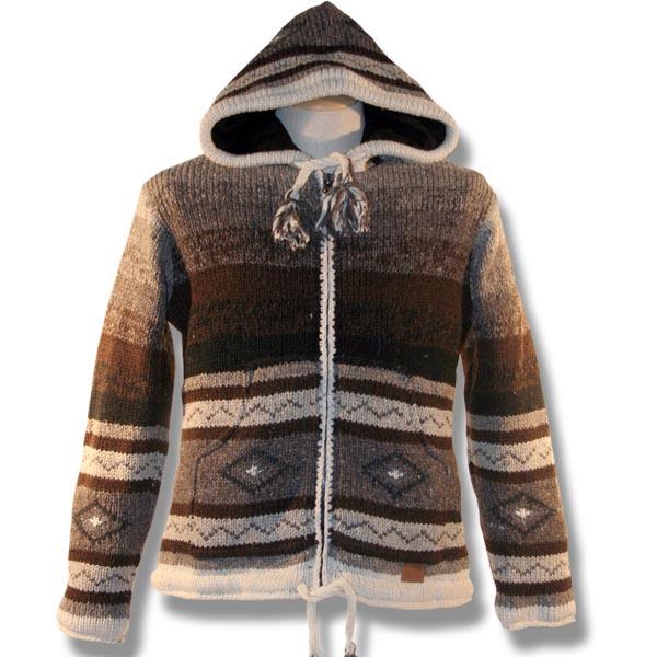 Adult Knit Sweater w/Hood