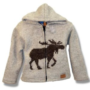 Moose Kids lined sweats with hood