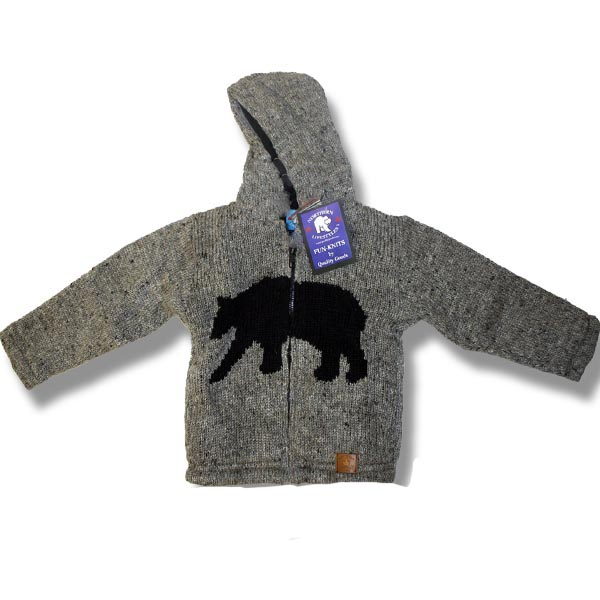 Moose Kids lined sweats with hood