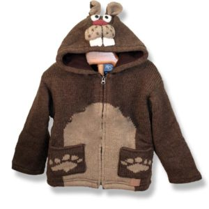 Comic Beaver Kids Hooded Jacket