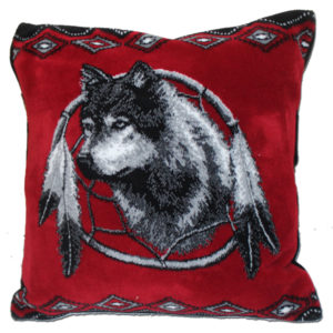 "Dreamcatcher Microfiber Pillow 18""X18"""