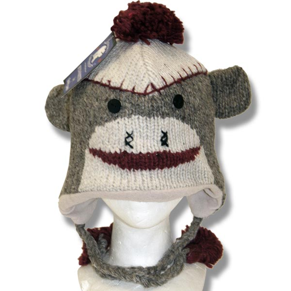 Sock Monkey Tuque