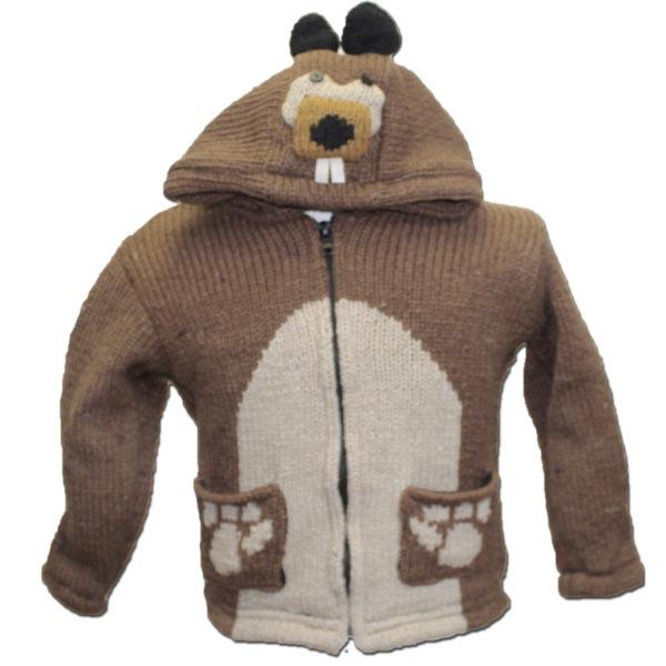 Beaver Kids Hooded Jacket