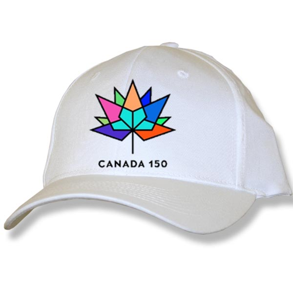 CAPS WITH CANADA 150 EMBROIDERY
