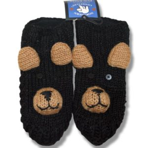 black bear adult animal booties