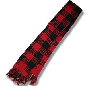 woolen scarf Buffalo Check Patt