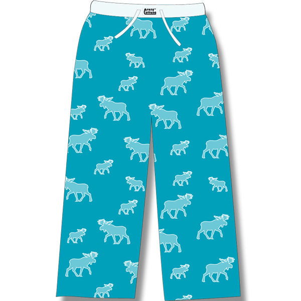 Turquoise all over Moose