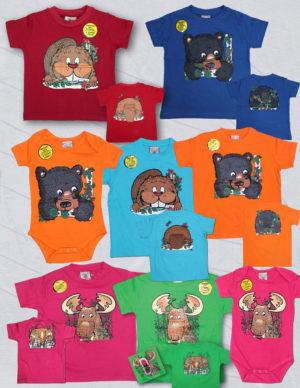 KIDS FLOPPY T-SHIRTS & INFANT ONESIE