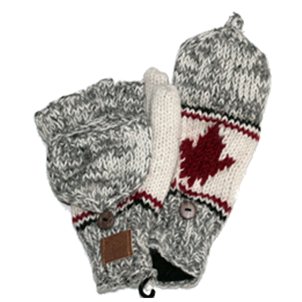 Adult Hunter Gloves with  ML app. 100% wool