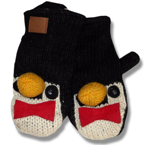 Penguin Head Kids Tuque
