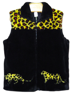 Adults Fun Fur Vests